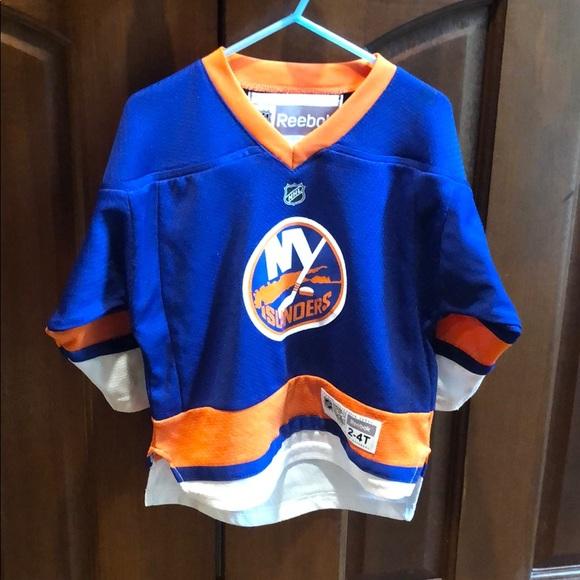detailed look d87a4 29f65 NHL/Reebok official kids Islanders jersey
